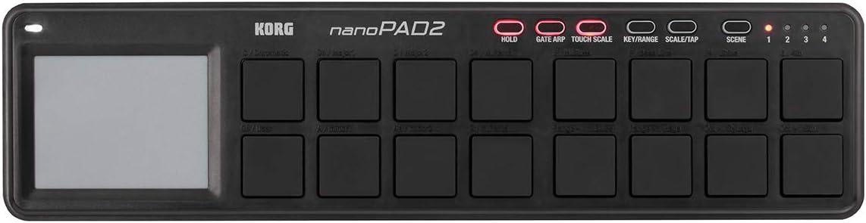 【まとめ買い】KORG コルグ - SLIM-LINE USB CONTROLLER nanoPAD2 BK ブラック 5個セット