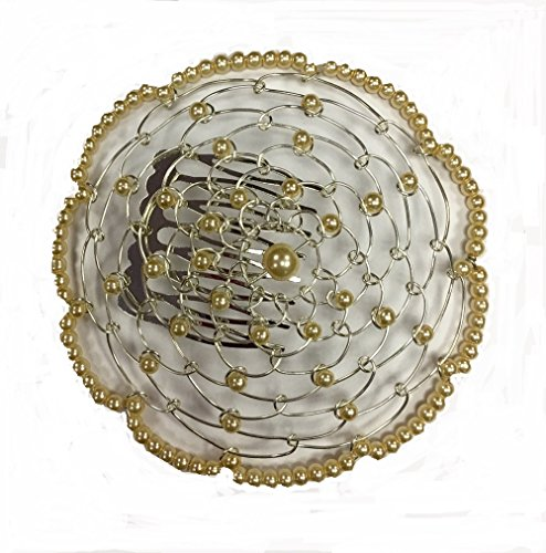 Elegant-Dressy-Beaded-Wire-Kippah-for-Women-Light-Champagne