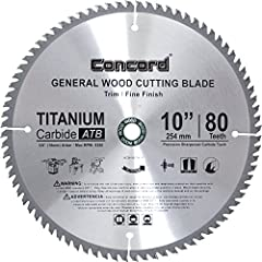 This wood cutting carbide saw blade is excellent for general purpose ripping, crosscutting and finishing of various wood materials and products. Thin kerf allows a smooth finish with minimal material waste. Excellent for use in cutting softwo...
