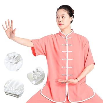 asdxz Ropa De Tai Chi Mujer Gong Fu Artes Marciales Tai Chi ...