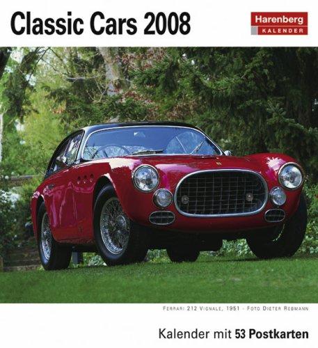 Harenberg Postkarten-Kalender Classic Cars 2008