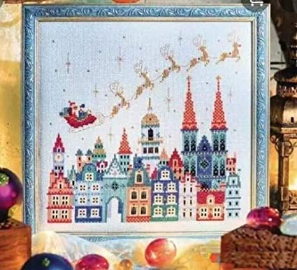 Christmas In The Air.Amazon Com Christmas In The Air Counted Cross Stitch Kits