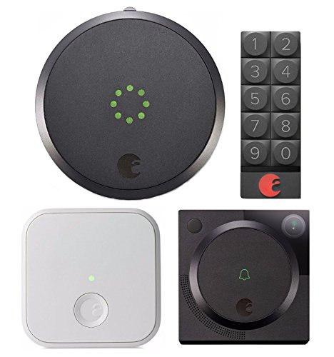August Smart Lock, Video Doorbell Cam, August Connect, & Smart Keypad by August