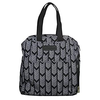 Image of Baby Sarah Wells Kelly Convertible Breast Pump Bag and Backpack (Black and White)