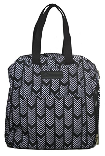 Sarah Wells Kelly Convertible Breast Pump Bag and Backpack (Black and White) by Sarah Wells (Image #10)