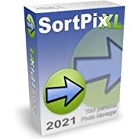 SortPix XL (2021) - Photo management software for photo organizing - Includes a duplicate photo finder - Easy photo…
