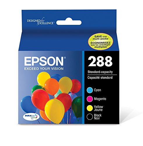 (Epson T288120-BCS DURABrite Ultra Black and Color Combo Pack Standard Capacity Cartridge Ink)