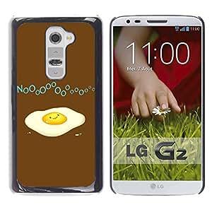 LECELL -- Funda protectora / Cubierta / Piel For LG G2 D800 D802 D802TA D803 VS980 LS980 -- Funny Broken Egg --