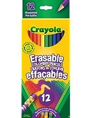 Crayola 12 Erasable Coloured Pencils Arts & Crafts