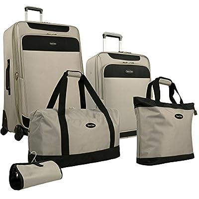 Travel Gear Star Bright 5 Piece Luggage Set