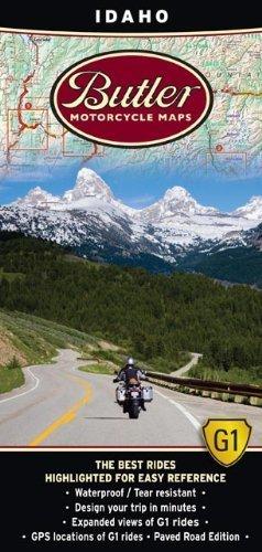 Butler Maps G1 State Maps (Idaho)