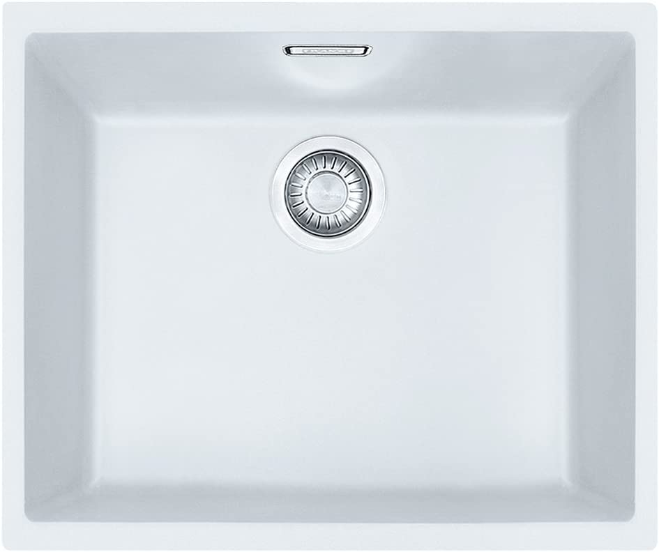 50 sid-110 50 /Évier blanc polaire Franke Sirius 110