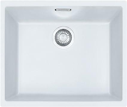 Franke Kitchen Sink Made Of Tectonite With A Single Bowl Sirius Sid 110 50 White 125 0331 033 White Polar Amazon Co Uk Diy Tools