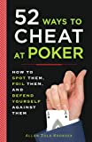 52 Ways to Cheat at Poker, Allan Zola Kronzek, 0452289114