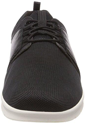 Timberland Graydon Fabric and Leather, Scarpe Stringate Oxford Uomo Nero (Black Connection 001)