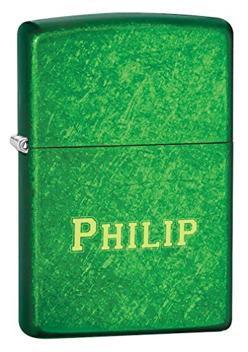 (Personalized Zippo Meadow Finish)