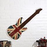 WWQY Wall Decor Metal Modern Guitar Wall Decoration Wall Art1 , coffee