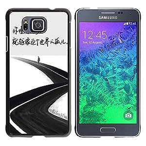 Dragon Case - FOR Samsung ALPHA G850 - orphan of the world - Caja protectora de pl??stico duro de la cubierta Dise?¡Ào Slim Fit