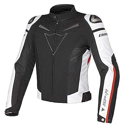 Chaqueta Moto Cómodo Transpirable Hombres Y Mujeres Motocicleta Chaqueta … (54-XXL, Negro + rojo)
