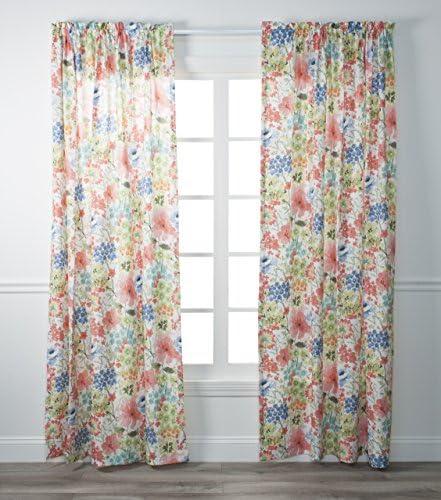 Ellis Curtain Utopia Tailored Panel, 48 x 84, Multi