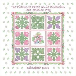 MINI QUILT Hawaiian design teal /& pink quilt.