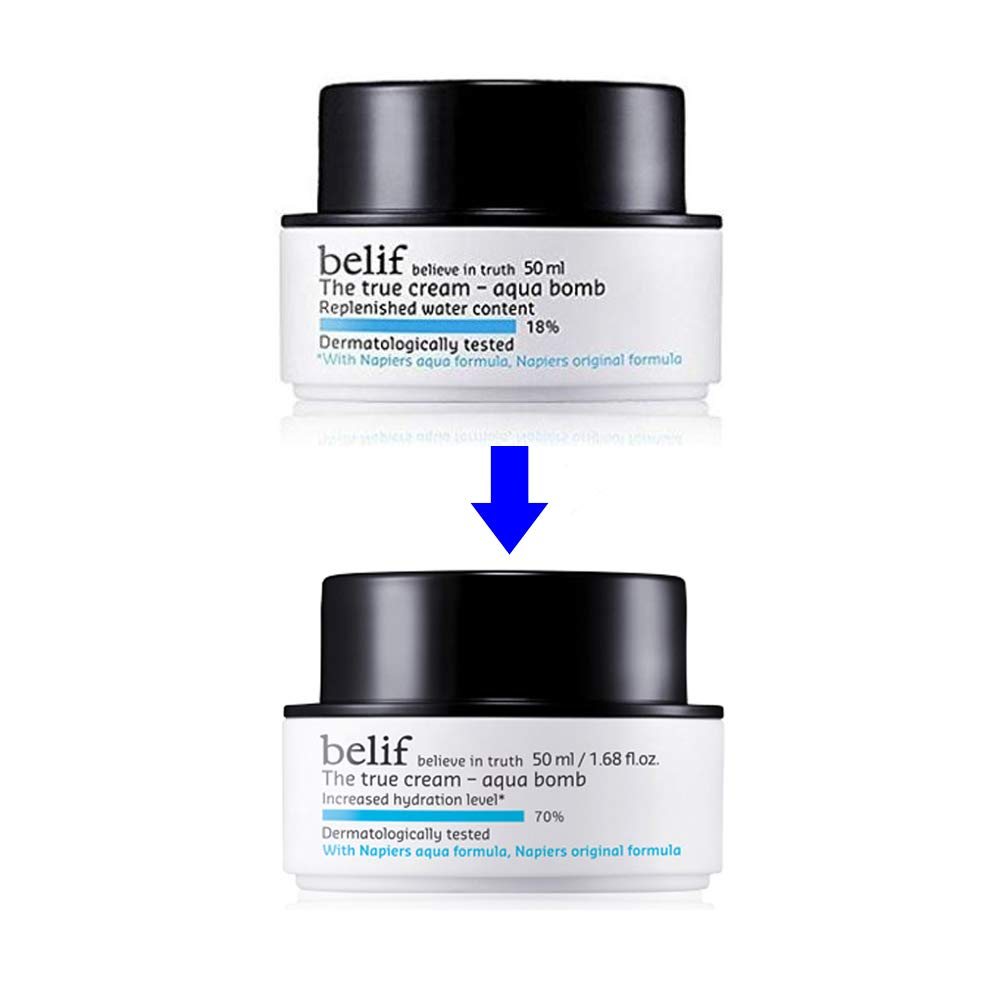 belif The True Cream Aqua Bomb Korean Import