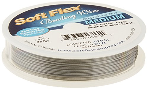soft flex beading wire 100 ft - 4