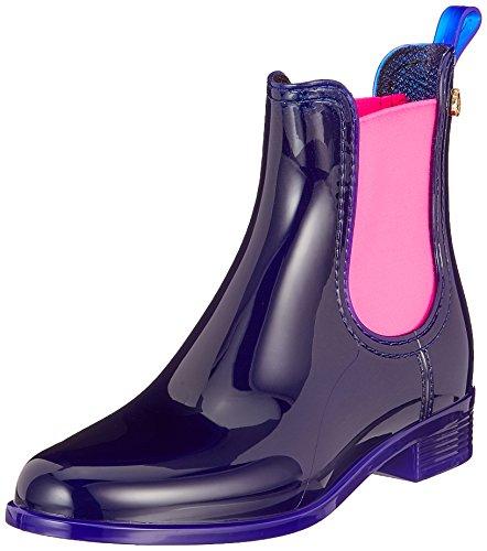 Metal Pisa Pink 10 Neon Multicolore indigo Lemon Grau Boots Jelly Chelsea Femme nXxpw7FqU