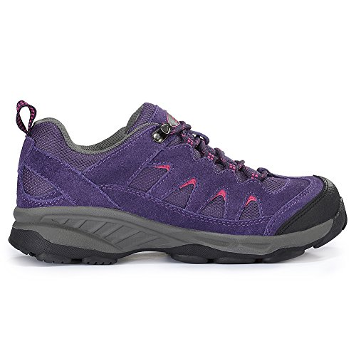 Scarpe e Traspirante da TFO Bassa Scarpe da Donna a Escursionismo Vita Trekking Purple Outdoor Resistente ed 5F84a