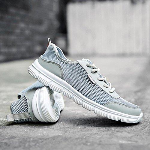 Couple Casual Men up Women Sneakers Lace Mesh vHP75nFqw