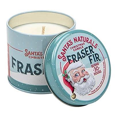 Santa's Naturals Fraser Fir Christmas Candle