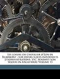 Les Loisirs du Chevalier D'Eon de Beaumont, , 1173317147