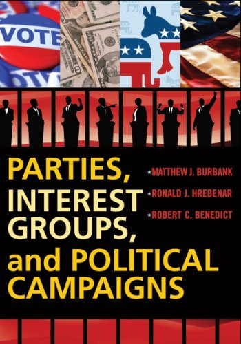 Parties, Interest Groups, and Political Campaigns by Matthew J. Burbank (2008-01-31)