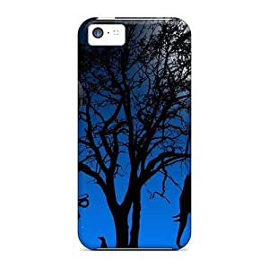 Forever Collectibles Blue Africa Hard Snap-on Iphone 5c Case
