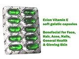 100 Evion Vitamin E Capsules For