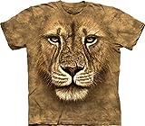 The Mountain Men's Lion Warrior T-shirt, Tan, XX-Large