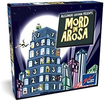 noris Zoch 601133200 - Juego de mesa Mord im Arosa (en alemán): Amazon.es: Juguetes y juegos