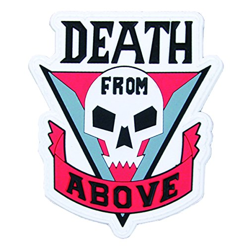Death From Above Morale Patch by Violent Little Machine Shop