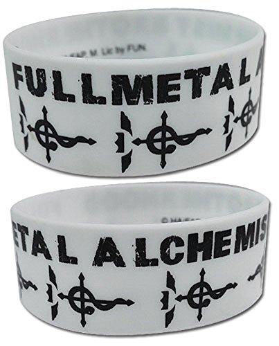 Fullmetal Alchemist: Flamel Cross Symbol Pvc Wristband