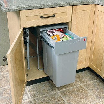 (Single Easy Cargo 10.5 Gallon Pull-Out Waste)