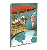 More Greetings Christmas Card Acrylic Print Wall Decor Wall Art - Shadow Mount, 24''x36''