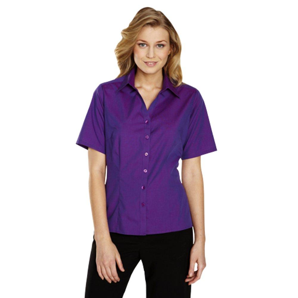 Simon Jersey - Camisas - Básico - Clásico - para mujer azul azul 36: Amazon.es: Ropa y accesorios