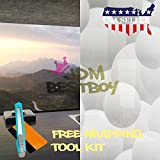 Free Tool Kit EZAUTOWRAP Bubble Frosted Glass Peel And Stick Window Film Home Bedroom Bathroom Privacy Waterproof Sticker Decal - 36''X480'' (3FT X 40FT)