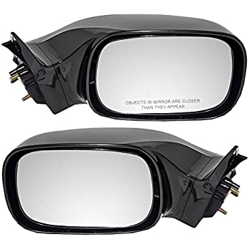 TO1320165 Pair New Set of 2 Mirrors Driver /& Passenger Side Heated TO1321165