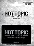 hot topic gift card - Hot Topic $50 Gift Card