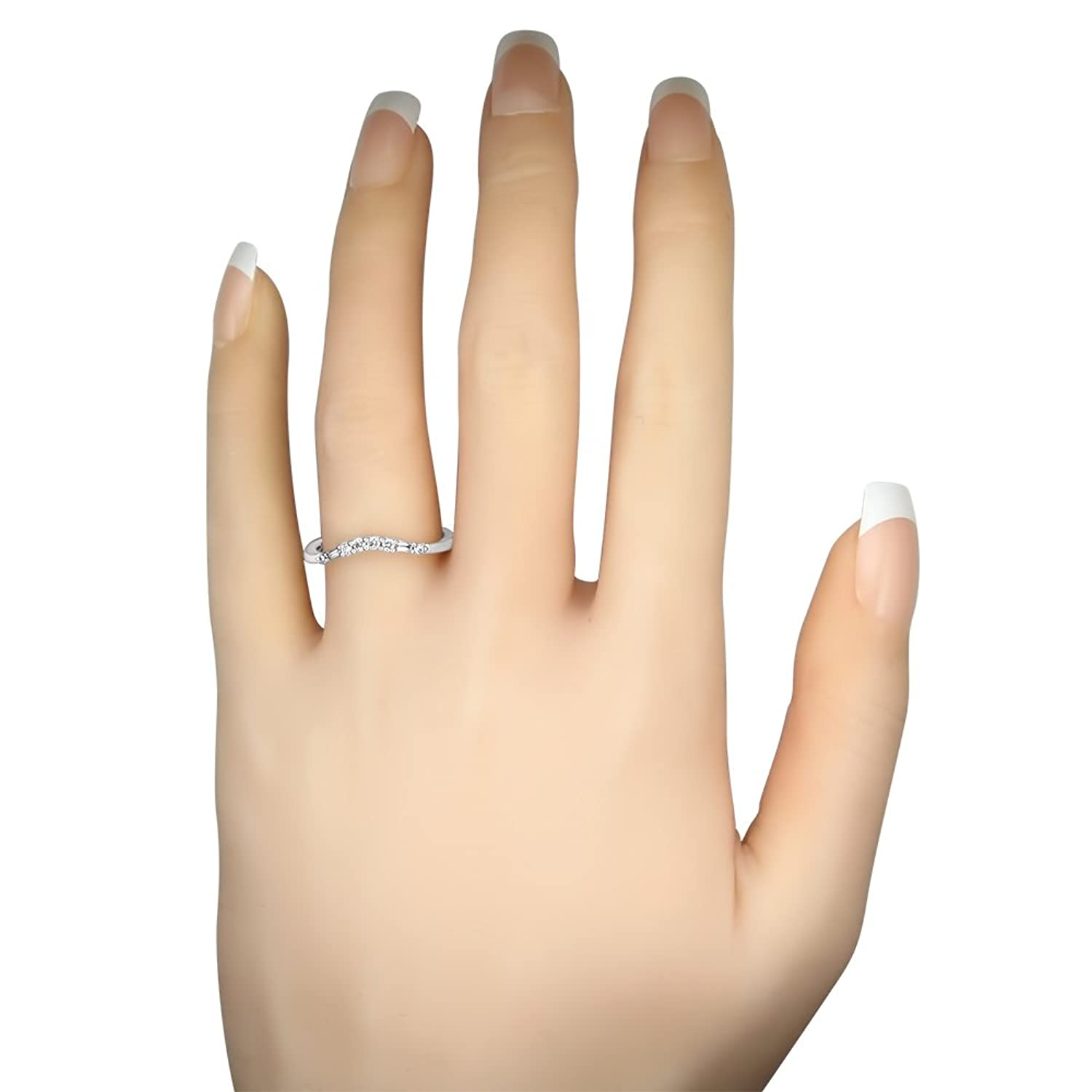 diamond uk rings white wedding contour claw co womens curve micro bands shaped gold band platinum