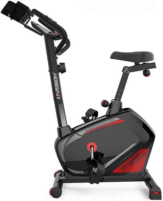 Bicicleta de Ejercicio Control magnético Bicicleta de Spinning Interior Ejercicio Equipo de Gimnasia Bicicleta de Ejercicio en casa (Color : Black, Size : 51 * 90 * 133cm): Amazon.es: Hogar