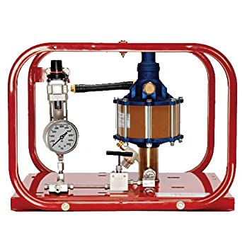 Rice Hydro HP-20 Pneumatic Hydrostatic Test Pump with Pressures Up