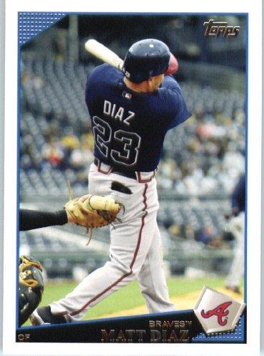 2009 Baseball - 2009 Topps Update Baseball Card #UH21 Matt Diaz