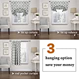 H.VERSAILTEX Blackout Curtains Balloon Shades